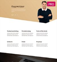 writer website design