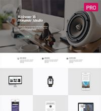 Creative Agence, Designer website template